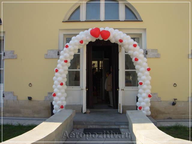 Оформление свадеб воздушными шарами